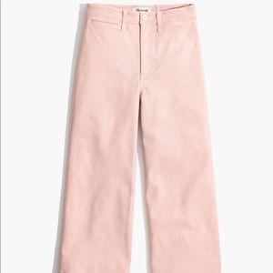 Madewell | Emmett Wide-Leg Crop Pants